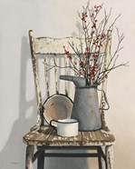 Watering Can On Chair