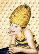 Bee-Hive Hairdo