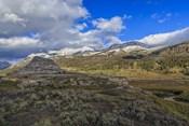 Soda Butte In Yellowstone