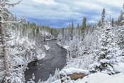 Yellowstone Winter In Fall