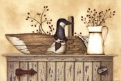 Duck And Berry Still Life