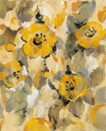 Yellow Floral I