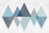 Mod Triangles II Blue