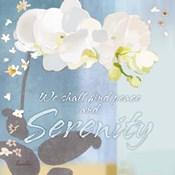 Blue Floral Inspiration I