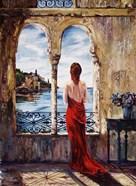 Serene In Red