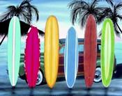 Woody & Surfboards