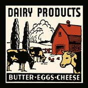 Dairy Product-Butter, Eggs, Cheese
