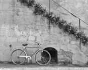 Bicycle & Cracked Wall, Einsiedeln, Switzerland 04