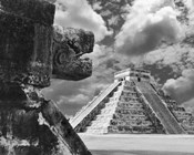 The Serpent And The Pyramid, Chechinitza, Mexico 02