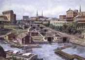 Lockport NY, Lockport 5's, c.1865