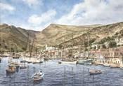 Greek Seaport Town