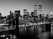 Brooklyn Bridge, NYC BW