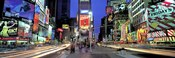 Times Square facing North, NYC
