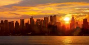 Sunset over Manhattan