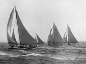 Sloops at Sail, 1915 (Detail)