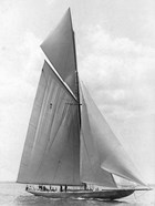The Vanitie During the America's Cup, 1910