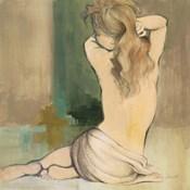 Waking Woman I (green)