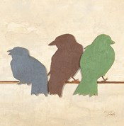 Birds III (assorted colors)