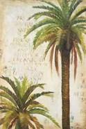 Palms & Scrolls I