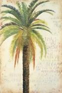 Palms & Scrolls II