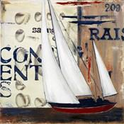 Blue Sailing Race II