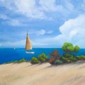 Sailboat on Coast I