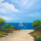 Sailboat on Coast II