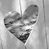 B&W Heart Full of Love
