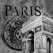 Parisian Wall Black IV