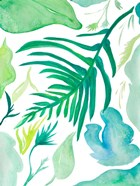 Green Water Leaves I