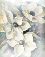 Magnolias Aglow on Abstract II