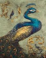 Peacock on Sage I