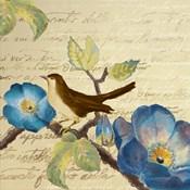 Avian on Blue I