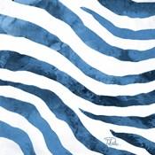 Watercolor Zebra II