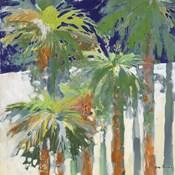 Wood Shadow Palms II