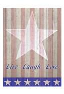 Live Laugh Love Flag