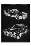 Car Black Print