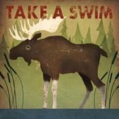 Take a Swim Moose