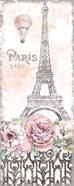 Paris Roses Panel VIII
