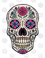 Sugar Skull on Gray
