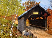 Covered Bridge Waterbury Vt
