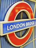 London Bridge Underground Sign