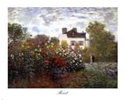 The Artist's Garden in Argenteuil (A Corner of the Garden with Dahlias), c.1873