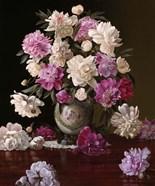 Peonies in a Japanese Vase