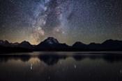 Jackson Lake Milky Way
