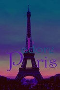 J'adore Paris - Eiffel Tower