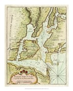 Petite Map of the Port of New York