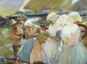 Valencianas en la Playa (Women from Valencia on the beach), 1915