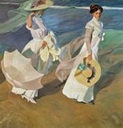 Paseo a Orillas del Mar (Promende on the beach), 1909