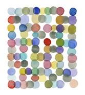 Series Colored Dots No. II
